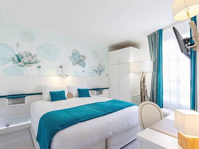 Photo gallery hotel eiffel trocadero paris for Chambre dhotel de luxe